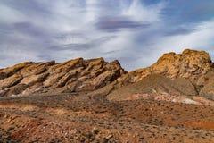 Kanjonen vaggar av den Utah öknen arkivbilder