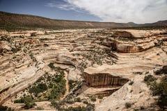 Kanjoner i Utah Royaltyfri Foto
