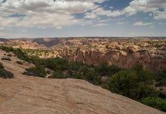 Kanjoner i Utah Arkivbilder