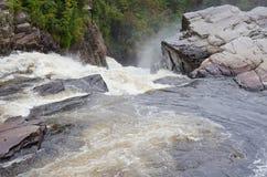 Kanjoner och vattenfall Royaltyfri Fotografi