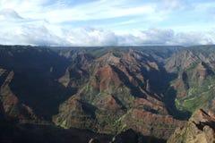 kanjonhawaii kauai waimea Royaltyfri Foto