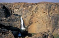 kanjonorangeflod arkivbilder