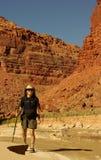 kanjonparia Arkivbild