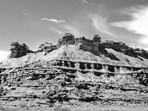 Kanjonplatå Arkivbilder