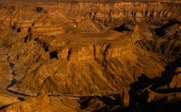 Kanjonsikt Arkivfoton