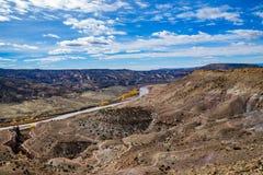 Kanjonutsikt av McInnis kanjoner fotografering för bildbyråer