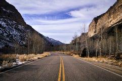 Kanjonvägar Royaltyfri Foto