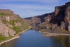 kanjonvatten Arkivfoton