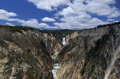 Kanjonvattenfall Arkivbilder