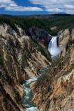 Kanjonvattenfall Royaltyfria Foton