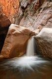 Kanjonvattenfall arkivfoto