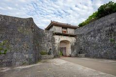 Kankaimon gate in okinawa Stock Photos
