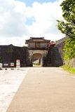 Kankaimon of Shuri Castle, Japan Stock Photos