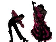 kankanu pary tancerza dancingowa francuska mężczyzna kobieta obraz royalty free