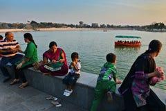 Kankaria jezioro Ahmedabad Zdjęcia Stock
