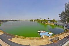 Kankariya jezioro Obrazy Royalty Free
