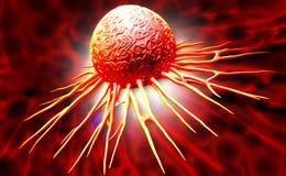 Kankercel vector illustratie