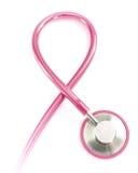 Kankervoorlichting van de borst Stock Afbeelding