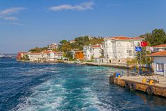 Kanlica Istanbul Royalty Free Stock Photography