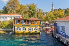 Kanlica port Istanbul Royaltyfria Bilder