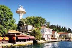 Kanlica resort Royalty Free Stock Image
