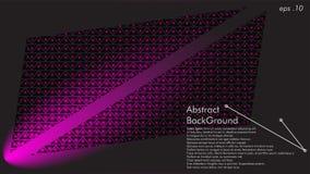 Kann abstrakter Hintergrundvektor der geometrischen Beschaffenheit im Abdeckungsentwurf, Buchentwurf, Websitehintergrund, Fahne,  lizenzfreie abbildung