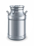 Kann Behälter für Milchvektor Stockfotos