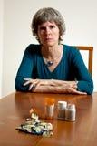 Kann das Drogekonzept nicht sich leisten Stockbild