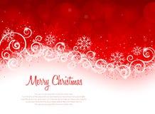 Kann eine Grußkarte zu den Freunde Weihnachtsfeiertagen schreiben Lizenzfreie Stockbilder
