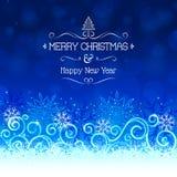 Kann eine Grußkarte zu den Freunde Weihnachtsfeiertagen schreiben Stockfoto