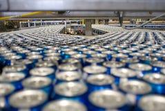 Kann Fabrik Stockfoto