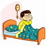Kann nicht schlafen Stockfotos