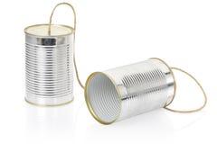 Kann telefonieren Stockbild