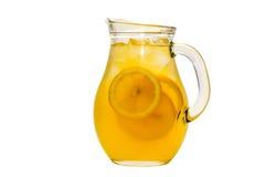 Kanna av lemonad arkivbilder
