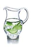 Kanna av lemonade royaltyfria foton