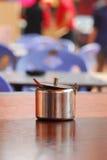 kannarostfritt stål Royaltyfri Fotografi