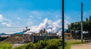 Kannawa stad i morgonen Royaltyfri Fotografi