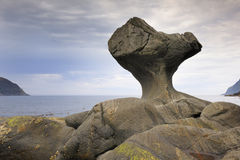 Kannensteinen岩石在挪威 免版税图库摄影