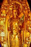 Kannon Bodhisattva at Hase Dera Kannon Buddhist Temple, Kamakura Royalty Free Stock Photography