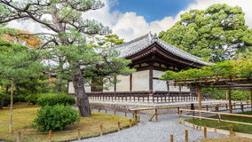 The Kannon-do Hall of Byodo-in Temple in Kyoto Stock Image