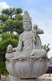 Kannon statue on Miyajima island Stock Images