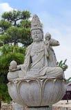 Kannon statue on Miyajima island Stock Images