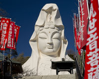 Kannon Statue, Ofuna. Kannon State at Ofuna, near Kamakura, Japan Royalty Free Stock Photography