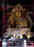 Kannon Statue. At Todaiji Temple, Nara Royalty Free Stock Photo