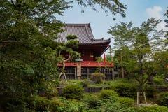 The kannondo of Kyomizu Temple, Ueno Park, Tokyo stock photos