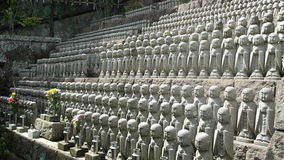 Kannons на святыне Hasadera Стоковое Фото