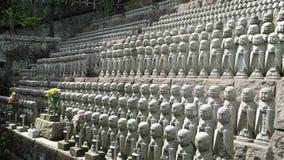 Kannons no santuário de Hasadera Foto de Stock