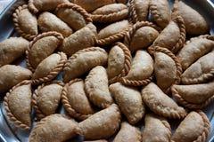 Kanole, savory festive treats, Maharashtra, India. Kanole, savory festive treats, are prepared during festivals or for special occasions in Maharashtra State royalty free stock photos