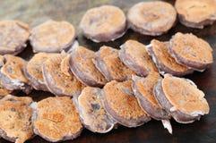 Kanom babin, Thai dessert style pancake. Kanom Babin Thai dessert style pancake made from coconut, arrowroot starch and glutinous rice flour Royalty Free Stock Image