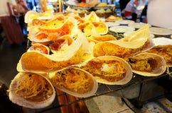 Kanom Buang : Thai Crispy Pancake Royalty Free Stock Photos